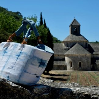 Abbaye de Senanque, Senanque Abbey, lavender field, lavande, lavandin, handbag Mei Line