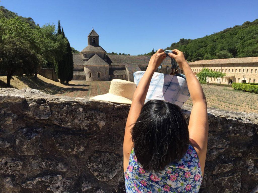 Abbaye de Senanque, Senanque Abbey, lavender field, lavande, lavandin, sac Mei Line