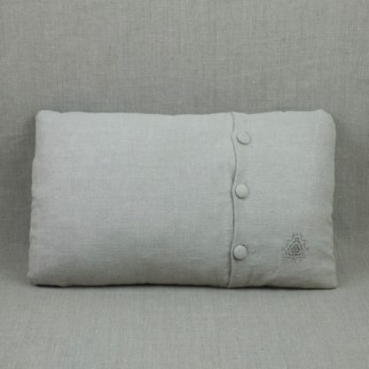 Linen cushion cover (back)