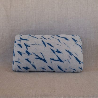 Nui shibori indigo cushion cover