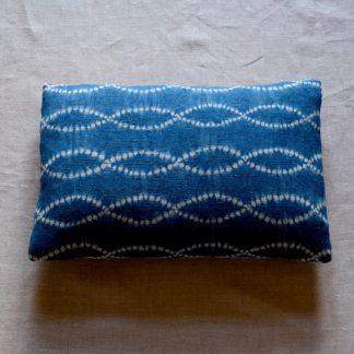 Indigo Nui shibori Cushion cover